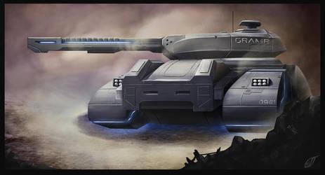 Hover Tank Gramr by Bloo-Ocean