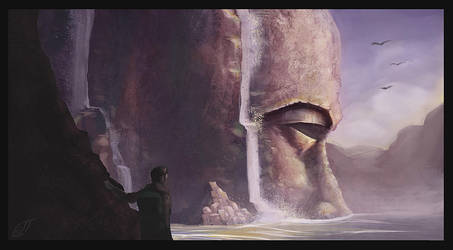 Forgotten Titan (Valley) by Bloo-Ocean