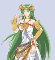 Palutena by Azel-Arts