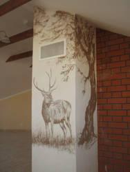 Deer by CorneliusL
