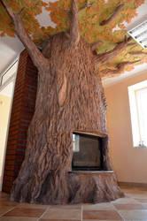 fireplace5 tree by CorneliusL