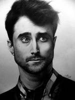 Drawing by Daniel Radcliffe by GabrielKoiArt