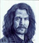 Sirius Black (Gary Oldman) by GabrielKoiArt