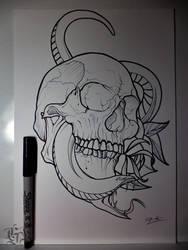 Sketch 1 by GabrielKoiArt