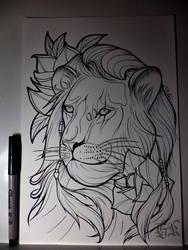 Sketch 2 by GabrielKoiArt