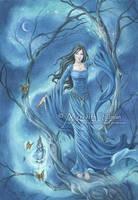 The Moonlight Spinner by MeredithDillman