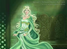 CCG Art - Fairy Queen by MeredithDillman