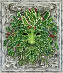 Greenman - The Holly King by MeredithDillman