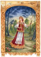 Vasilisa the Beautiful by MeredithDillman