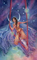 78 Tarot - High Priestess by MeredithDillman