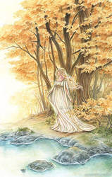 Lady of the Golden Forest by MeredithDillman