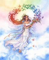 Iris of the Rainbow by MeredithDillman