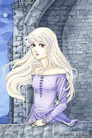Last Unicorn - Lady Amalthea by MeredithDillman