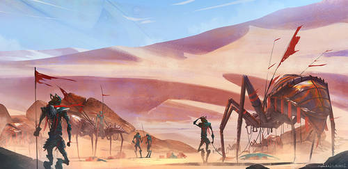 Ant Desert by Alpha-Step