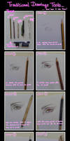 Traditional Drawing Tools by CristianaLeone