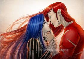 Nyx and Sharyl by CristianaLeone