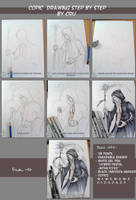 Copic drawing process by CristianaLeone