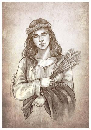 Saint Philomena by CristianaLeone