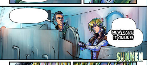 Sunken . 3 . The Chariot - p 21 - update! by CristianaLeone