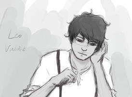 Leo Valdez sketch by kaahtak