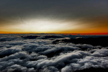 Clear Sky Over The Clouds by sdxtreme