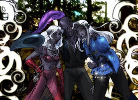 Dragon con Trio by RollerBoyjeremy