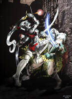 Vendes and Drizzt by RollerBoyjeremy