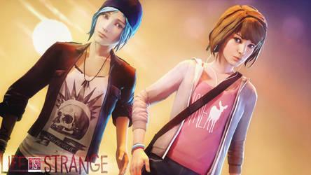 Life is strange - Max and Chloe Sunset  [SFM] by Mrjimjamjamie