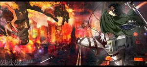Attack on Titan - Levi by Bnfsjawy