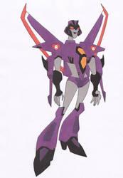 Transformers oc Greta by BomBot
