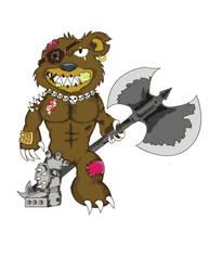 Brutal Bear by SetoYen