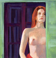 Dawn - nude figure by classina