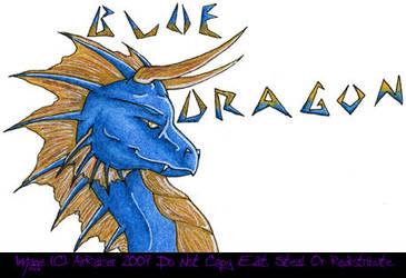 CBAX April 07 Blue Dragon by AirRaiser