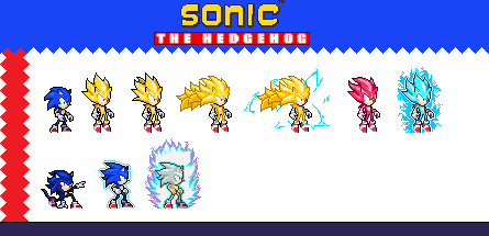 LSW- Sonic (Super forms) by Bite035