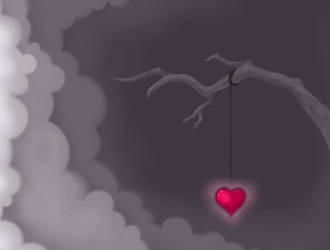 Hanging Heart by oufve
