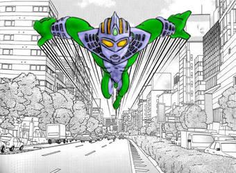 Ultraman Defender W.I.P. by Raeklore