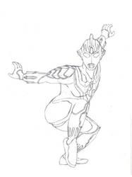 Ultraman Eagle style by Raeklore