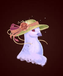 Rococo Pigeon by Pigeonfeather