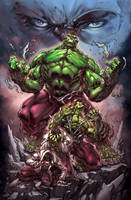 Furious hulk by pant