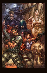 Resident Evil 5 Color tribute by pant