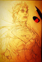 Super Man of Steel by pant