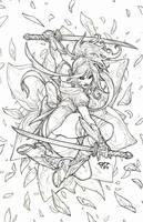Daffodil aspen samurai ninja assassins Cover by pant