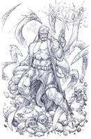 Hellboy by pant