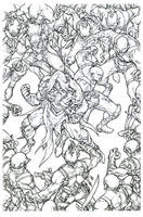 zenescope's Godstorm by pant