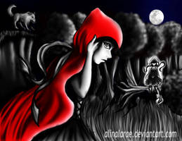 Run Little Red by AlinaLarae