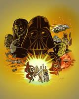Star Wars -- Color by artzrevolution