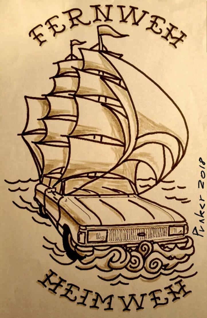 falcon nave by alkeman