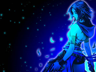Yuna: Mist of Blues by Wolf-Whisperer