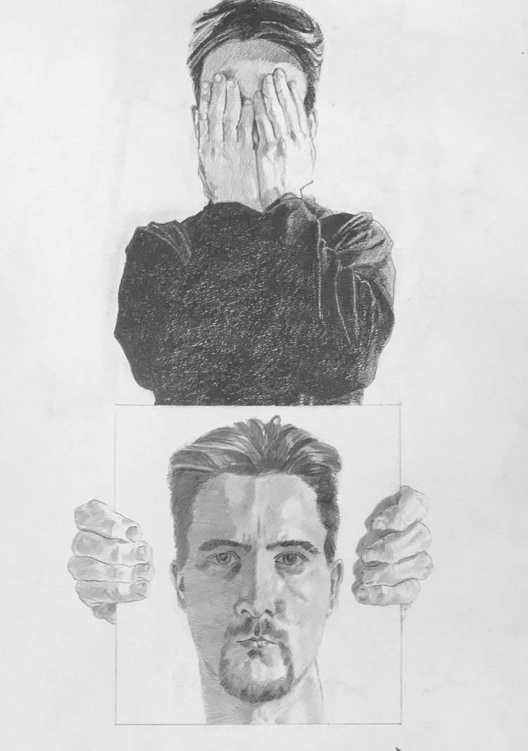 Portrait - 2 faces by littlestudio