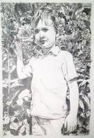 Portrait of young Kennerh by littlestudio